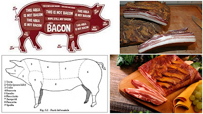 Bauchspeck Seitenspeck bacon speck pancetta
