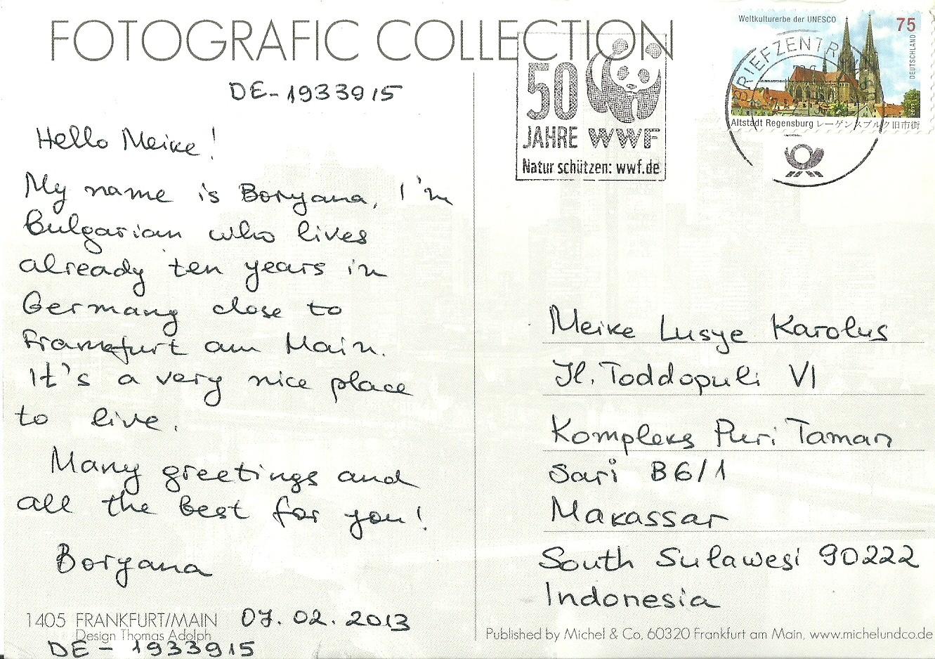 Contoh Postcard Dalam Bahasa Inggris Aneka Macam Contoh