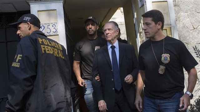 Brazilian Olympic Committee chief  Carlos Nuzman arrested over bribery scandal