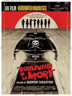 BOULEVARD DE LA MORT (DEATH PROOF), Quentin Tarantino, Kurt Russel, Affiche, grindhouse