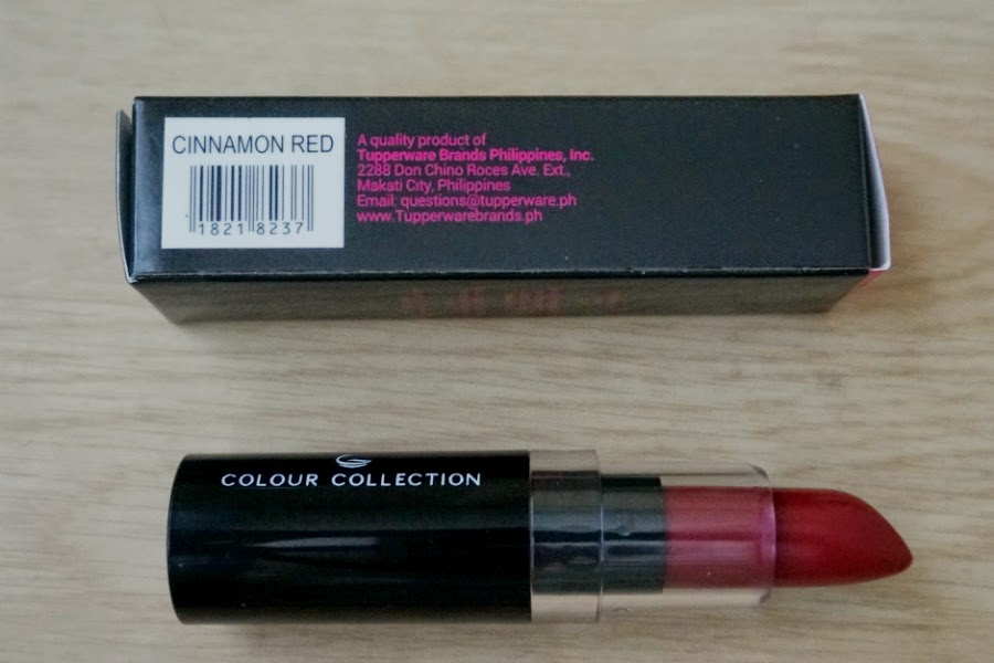 Colour Collection HD Lipstick (Cinnamon Red)