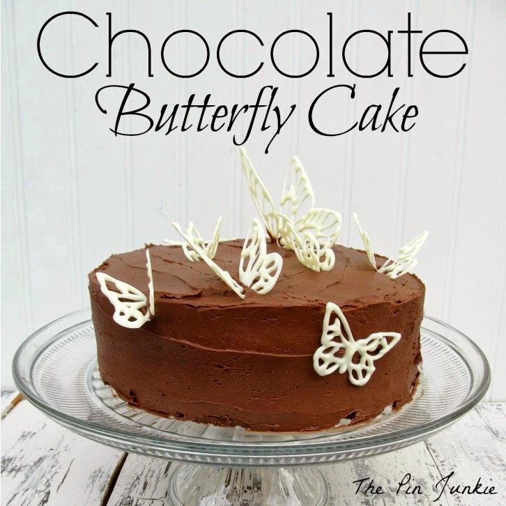 Chocolate Butterfly Cake