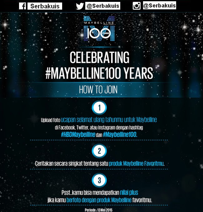 Maybelline 100 Years
