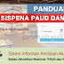 Download Panduan Login Sispena PAUD dan Pendidikan Non Formal (PNF)
