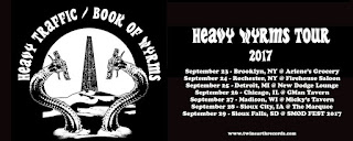Heavy Traffic / Book of Wyrms tour