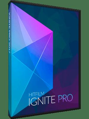 HitFilm Pro 2017 v5.0.6007.34105 box