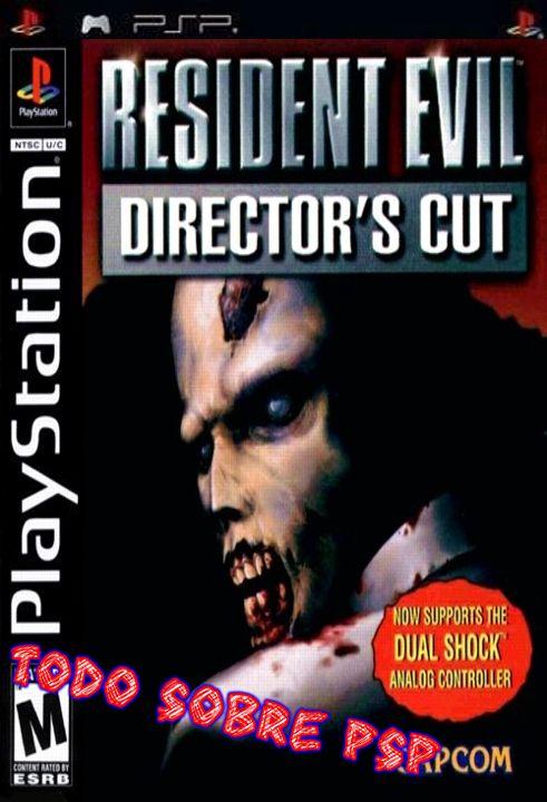 Resident Evil 1 - Directors Cut [Español][PSX-PSP]