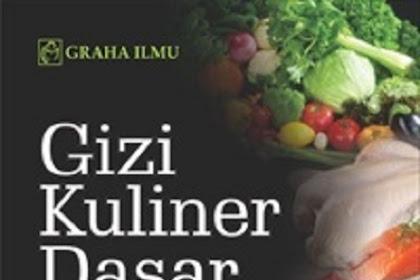 Jual Gizi Kuliner Dasar - DISTRIBUTOR BUKU YOGYA | Tokopedia