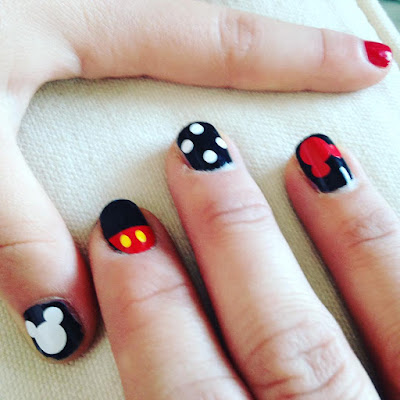 vinyl nail decals disney world sizing mickey mouse silhouette cameo