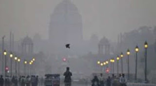 City of Delhi covered in haze