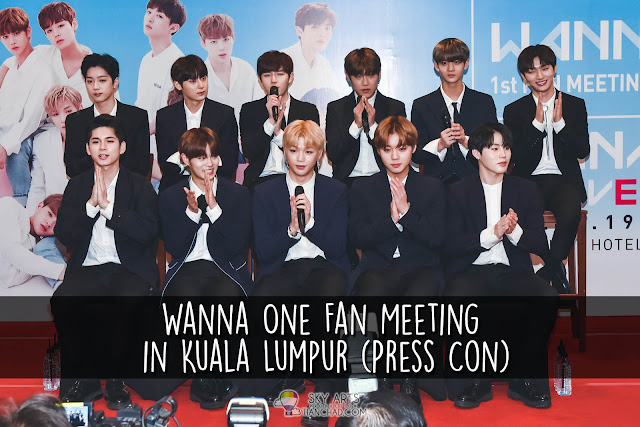 [Photo] Wanna One Fan Meeting in Kuala Lumpur (Press Con) #wannaoneinKL