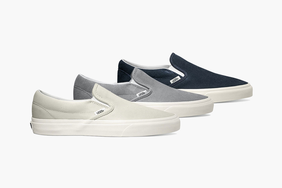 a31ee6747c9adb AW15 see s Vans get us winter ready with the upcoming Classic Slip-On  collection. The iconic lace-free model comes in 6 neutral colourways for  the upcoming ...