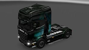 Girl skin v3.0 for Scania Streamline SCS