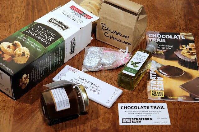chocolate trail