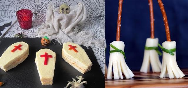 sanduiche caixão e vassourinhas de queijo