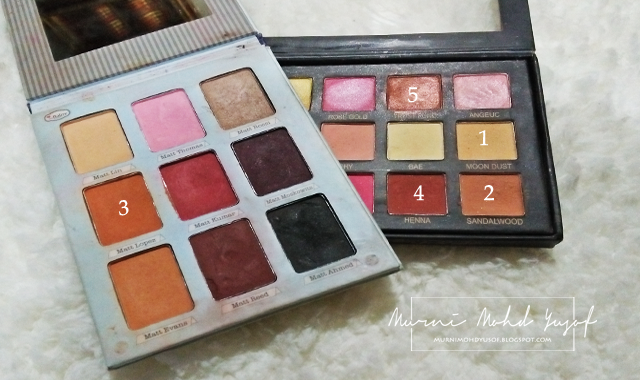 eyeshadow pallette, eyeshadow copy ori