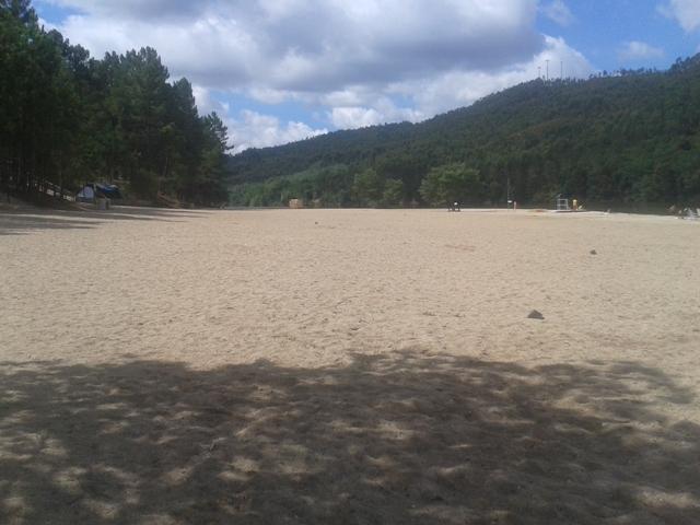 Areal da Praia Fluvial da Lomba