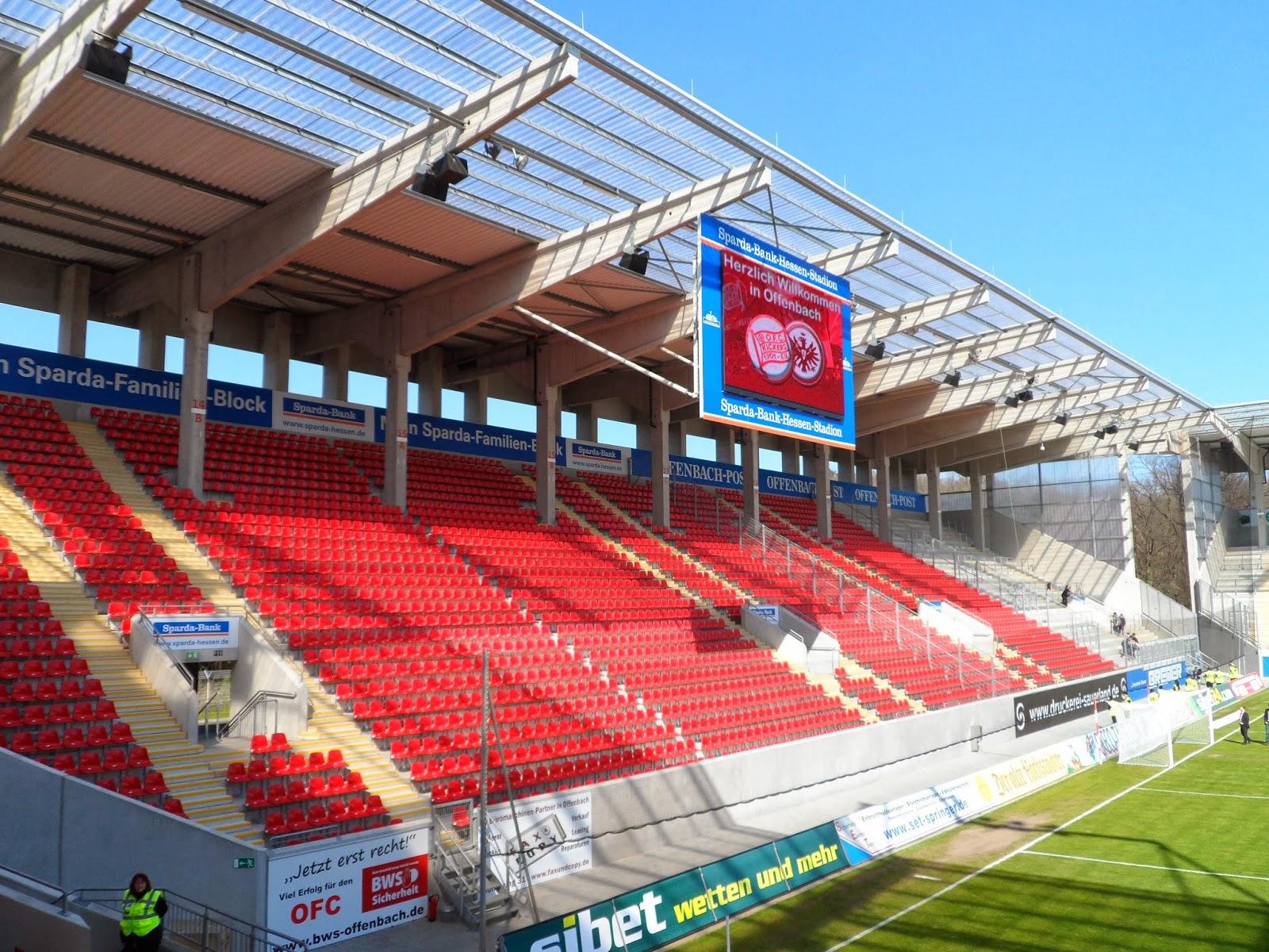 stadien 29 offenbach sparda bank hessen stadion. Black Bedroom Furniture Sets. Home Design Ideas