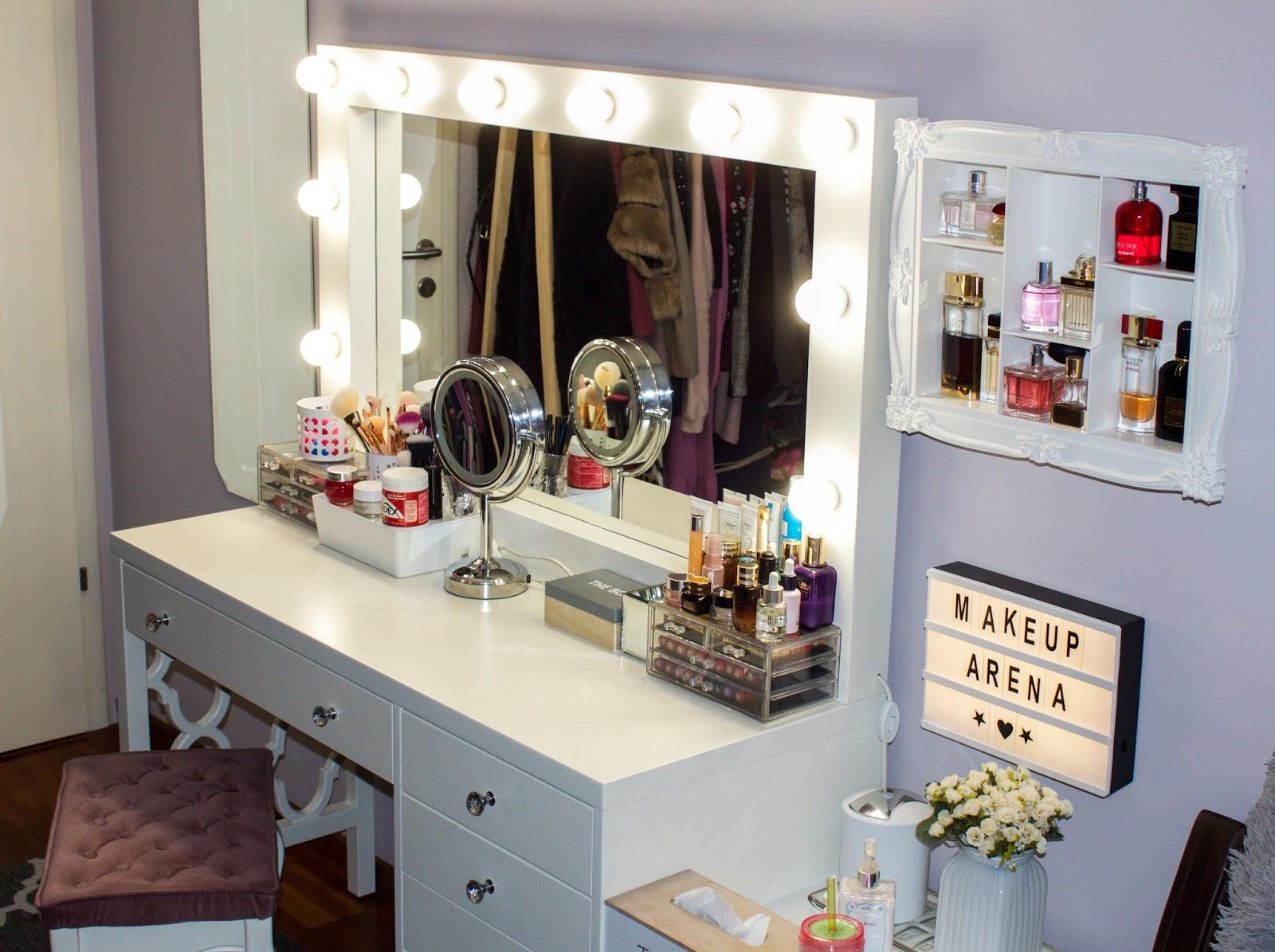 Makeup kolekcija i organizacija