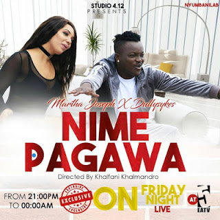 Martha Joseph Ft. Dully Sykes - Nimepagawa Audio