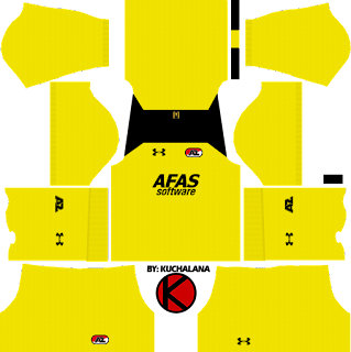 AZ Alkmaar Kits 2017/18 - Dream League Soccer