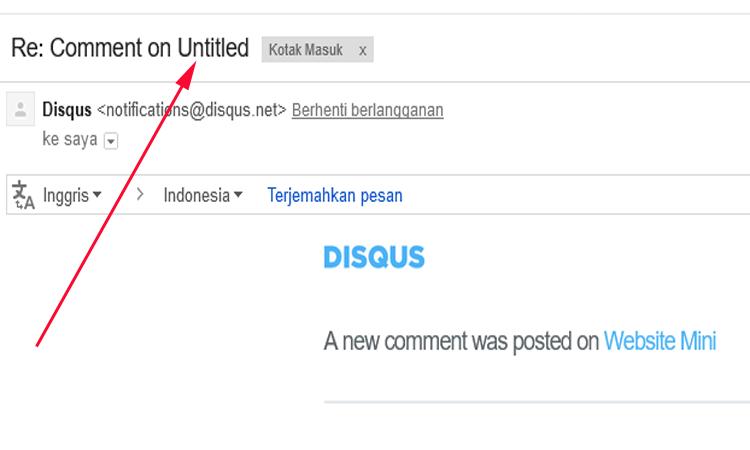 Mengatasi Komentar Disqus Menjadi Untitled Setelah Aktifkan HTTPS