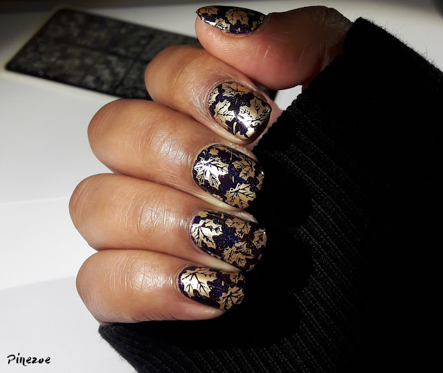 Enchanted Polish - November 2014 et stamping BPL024