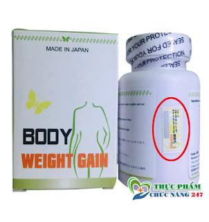 Thuốc tăng cân BODY WEIGHT GAIN Japan mua ở đâu? Giá bao nhiêu !