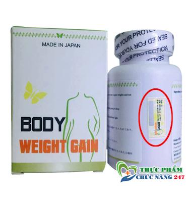thuốc tăng cân body weight gain có tốt không, mua ở đâu? Giá bao nhiêu !