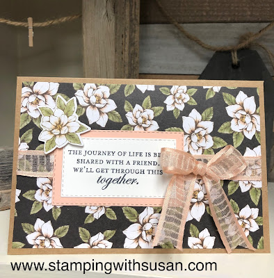 Stampin' Up!, Magnolia Lane Suite, www.stampingwithsusan.com, Magnolia Lane Large Speciality Memories & More Cards & Envelopes, Magnolia Lane Memories & More Card Pack