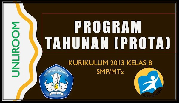 PROTA SMP/MTs KELAS 8 KURIKULUM 2013 REVISI SEMUA PELAJARAN
