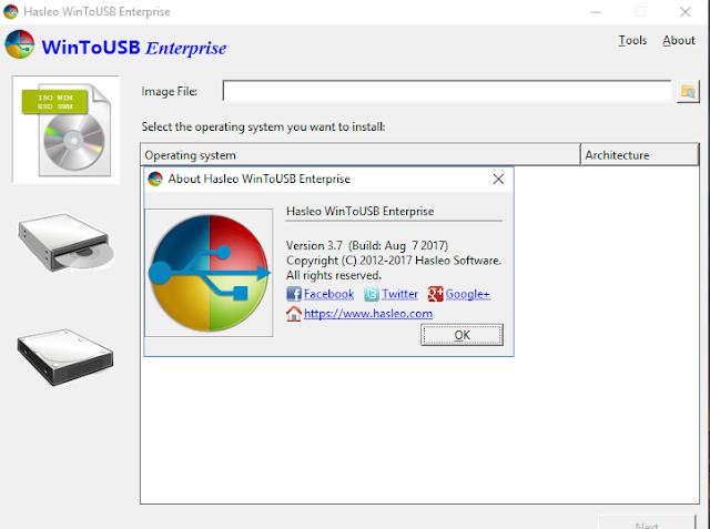 [Soft] Hasleo WinToUSB Enterprise 3.7 - Phần mềm tạo USB cài đặt Windows