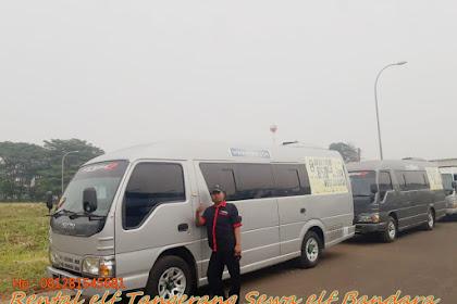 Rental elf Tangerang Sewa elf Bandara