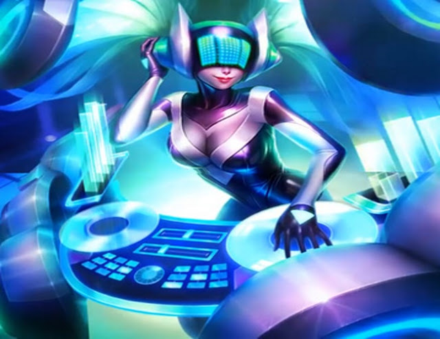 Dj Sona Kinetic League of Legends Wallpaper Engine