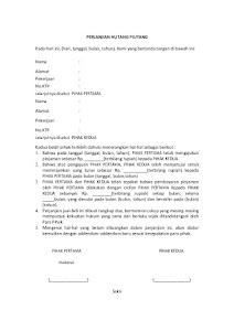 contoh surat penawaran barang yang baik dan menarik siamplop contoh surat perjanjian hutang dengan jaminan thecheapjerseys Images