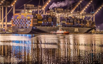 Wallpaper: APL England Container Ship
