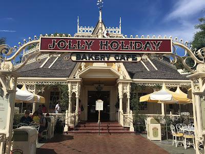 Jolly Holiday Bakery Cafe Disneyland