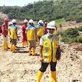 Ahmad Yani dan Penyidik Pengawasan Ketenagakerjaan Bersama K3 Tinjau Proyek 1,7 Triliun