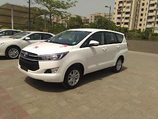Innova Crysta Taxi Delhi