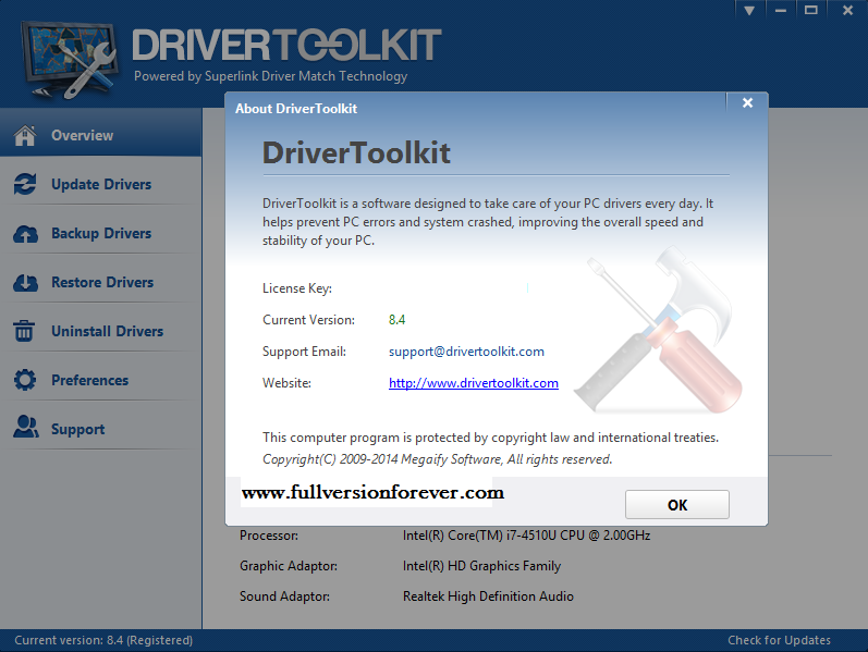 Driver Toolkit full version with keys and crack for windows