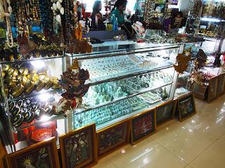 Yangon Airport Souvenir Shop