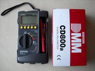 Jual Multimeter Sanwa CD800a - Multimeter Sanwa CD800a Bekasi - Harga Multimeter Sanwa CD800a