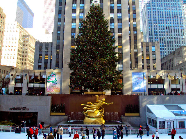 Rockefeller Center Christamas Tree