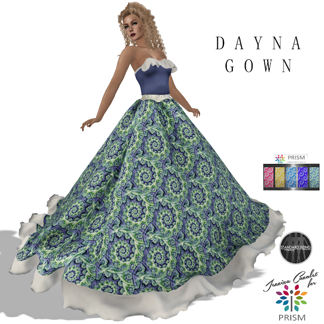 PRISM ~ NEW 55L Thursday Outfit by Jezzixa, Dayna Gown!