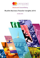 Source: Report cover. MasterCard, CrescentRating breakdown what Muslim business travellers want.
