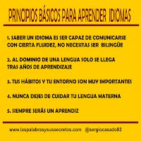 Principios básicos para aprender idiomas, aprender idiomas, aprender inglés, aprender español