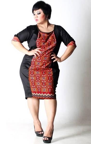 10 Model Baju Batik Wanita Gemuk Tampil Cantik 2020