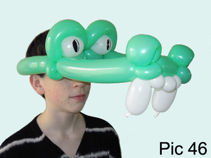 balloon animals twisting instructions