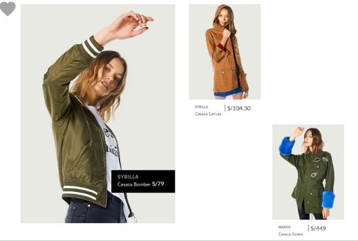 Saga falabella chaquetas  2018