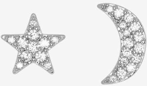 Henri Bendel's Luxe Star & Moon Studs